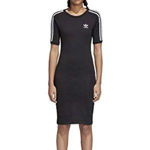 Adidas Originals Women's 3 Stripes Dress-L